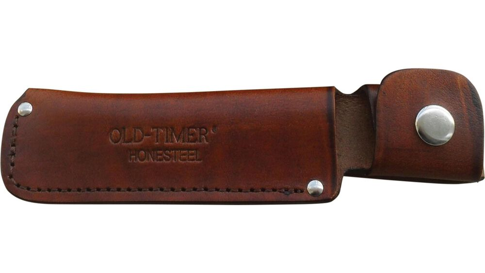 Honesteel with Brown Leather Belt Sheath