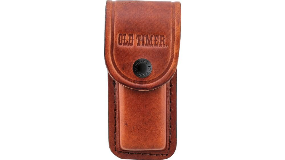 Large Brown Leather Belt Sheath